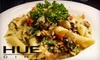 Hue Dine - CLOSED - Downtown Indianapolis: $15 for $35 Worth of Fusion Dinner Cuisine at Hue Dine (or $10 for $20 Worth of Lunch Fare at Loft 36)