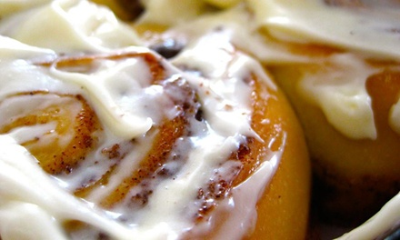 $11 for Four Cinnamon Rolls at Cinnaswirl Nashville ($20 Value)