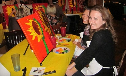 3-Hour Painting Class for Two (a $70 value) - Heart to Art in