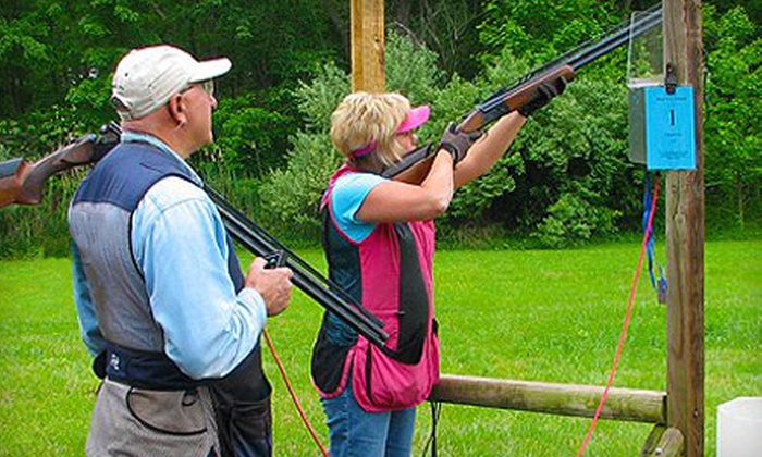 M&M Hunting Preserve & Sporting Clays - Pennsville: Introduction to Sporting Clays Class for One or Two at M&M Hunting Preserve & Sporting Clays in Pennsville
