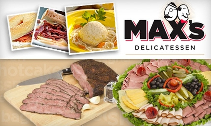 Max's Delicatessen - Overton: $4 for $10 Worth of Eats at Max's Delicatessen (or $35 for $75 Gift Card for Fare and Drink)