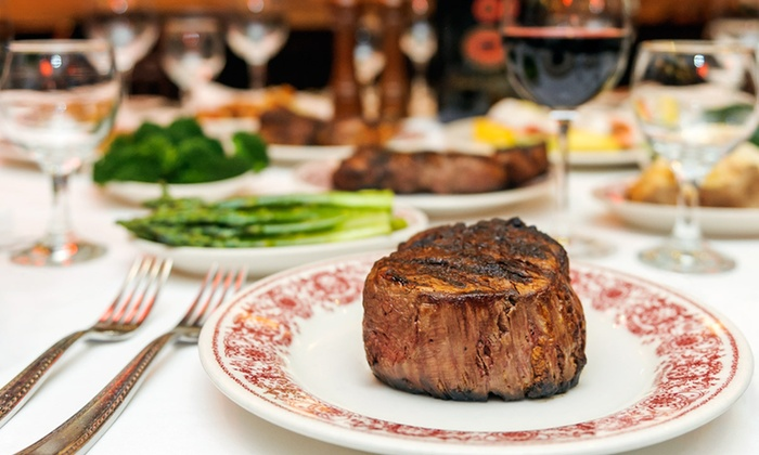 Sparks Steak House - Midtown East: $100 for a Four-Course Steak-House Dinner for Two