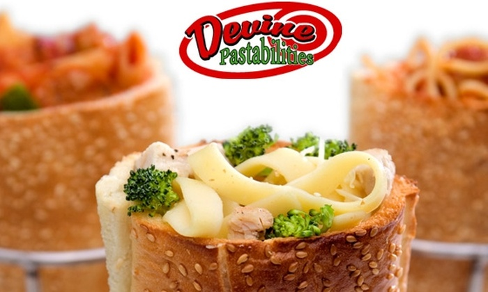 Devine Pastabilities - San Diego: $5 for $15 Worth of Pasta Sandwiches at Devine Pastabilities