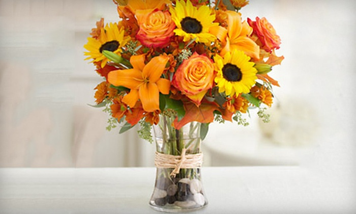 PG Flowers - Carpenter Park: Floral Arrangements at PG Flowers in Morrisville (Up to 51% Off). Five Options Available.