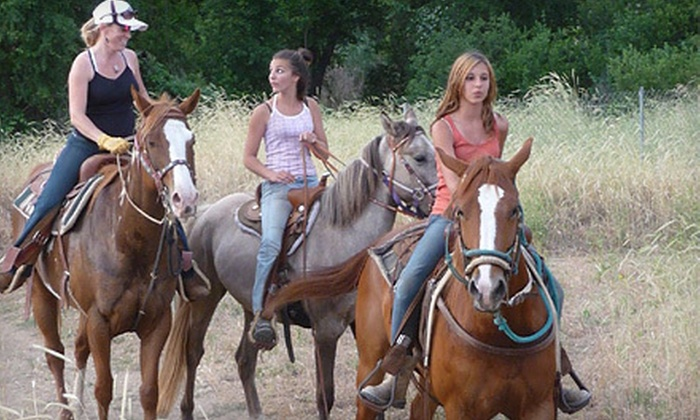 NorCal Trail Rides - Cascade: $49 for a 60-Minute Trail Ride for Two from NorCal Trail Rides in Anderson ($100 Value)