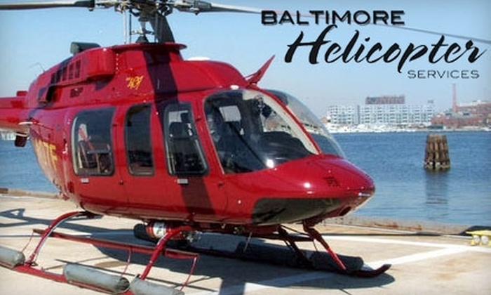 Baltimore Helicopter Services - Baltimore: $140 for a Helicopter Tour of Baltimore from Baltimore Helicopter Services ($566.67 Value)