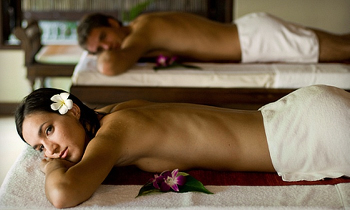 The Oasis Salon & Spa - Springfield: $75 for Couples-Massage Package at The Oasis Salon & Spa ($150 Value)