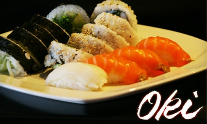 Oki Japanese Steak House - North Providence: $20 for $40 Worth of Grilled Hibachi Fare and More at Oki Japanese Steak House
