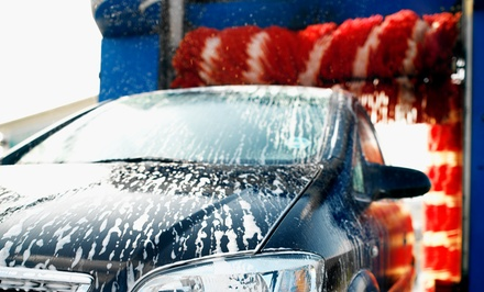One or Three Premium Car Washes at Deluxe Car Wash & Express Lube (Up to 48% Off)