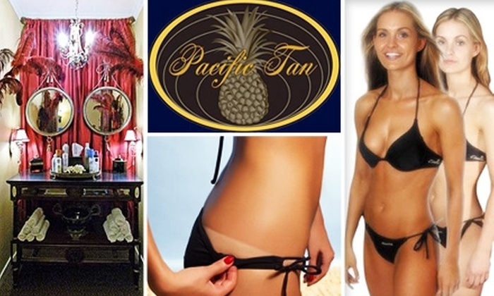 Pacific Tan  - Corte Madera: $25 for One Full-Body Airbrush Tan at Pacific Tan ($49 Value)