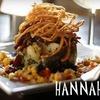 Half Off Fine Fare at Hannah's in Denton