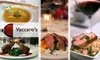Vacarros Tratoria - Bath: $18 for $40 Worth of Authentic Italian Fare and Drinks at Vaccaro's Trattoria
