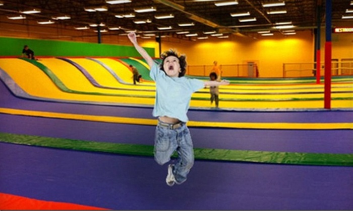 Jumpoline Park - Mission Viejo: Two Hours of Jump Time for One, Two, or Four at Jumpoline Park in Aurora (Up to 58% Off)