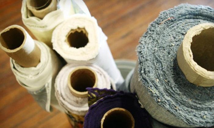 Fabric Rows Design House - Original Donation: $25 for $50 Worth of Fabrics, Custom Lamp Design, and Upholstery Services at Fabric Rows Design House in Plano