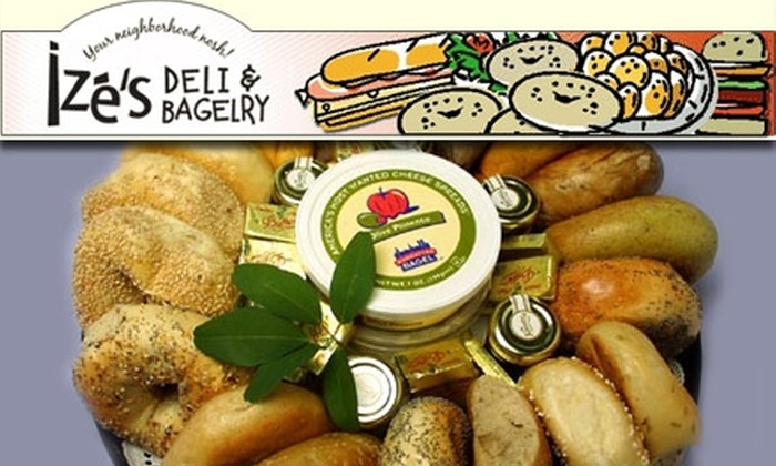 Ize's Deli & Bagelry - North Bethesda:  $6 for One Dozen Bagels and 7 Ounces of Plain Cream Cheese at Ize's Deli & Bagelry (Normally $12.58)