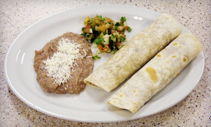 Coyote's Mexican Restaurant - Orem Station: Authentic Mexican Fare at Coyote's Mexican Restaurant in Orem (Half Off). Two Options Available.