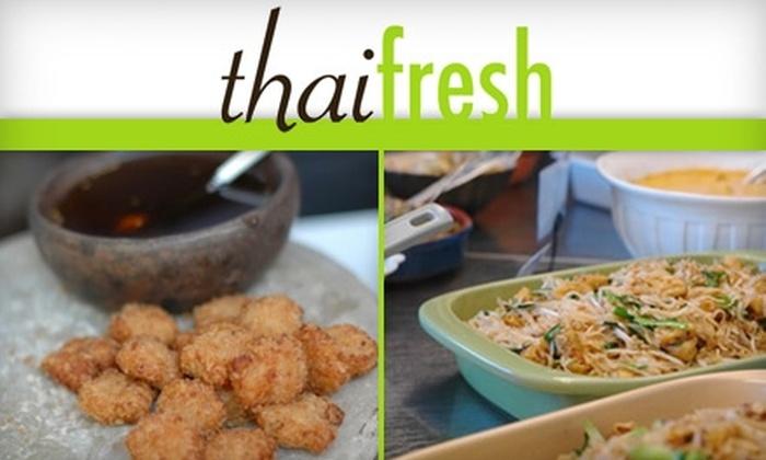 Thai Fresh - Bouldin: $10 for $20 Worth of Seasonal Fare at Thai Fresh