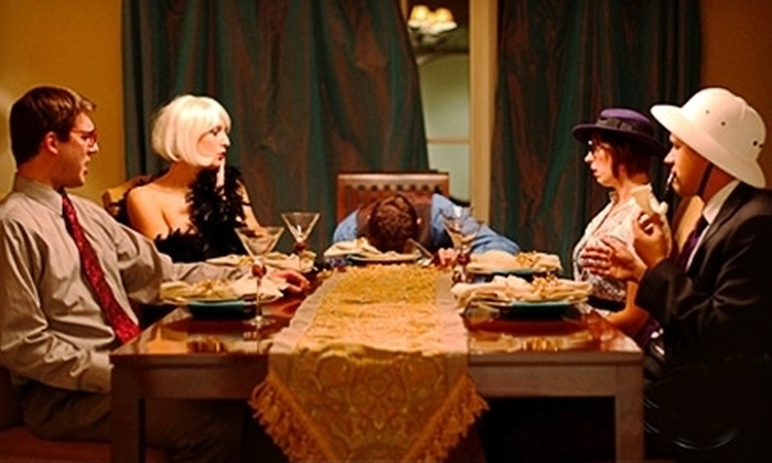 The Murder Mystery Company - Lakeview: Murder-Mystery Dinner for Two or Four Presented by The Murder Mystery Company at O'Malley's Liquor Kitchen (Half Off)