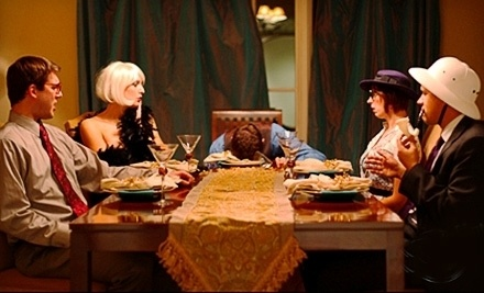 Murder-Mystery Dinner and Performance for 4 People (a $280 value) - The Murder Mystery Company in Chicago