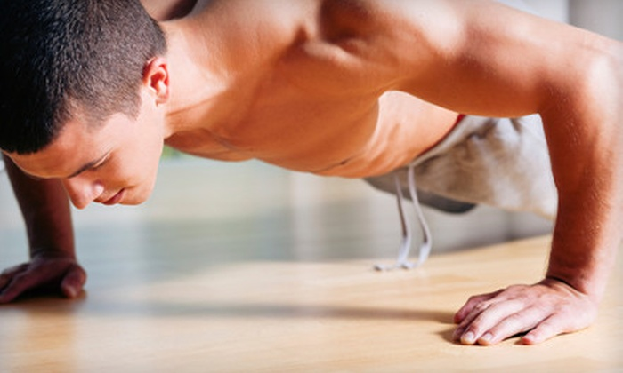 Legacy Fitness - Multiple Locations: 10 or 20 Fitness-Boot-Camp Classes at Legacy Fitness (Up to 58% Off)