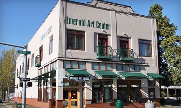 Emerald Art Center - Springfield: $37 for a Participating Membership to Emerald Art Center ($75 Value)