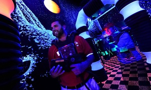 Asheville's Fun Depot: Go-Kart, Laser-Tag, and Activity Packages at Asheville's Fun Depot (Up to 47% Off). Four Options Available.