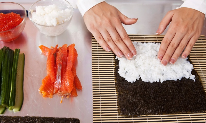 Sushi Making Workshop and Dinner - Artistic Kitchen: Roll Your Own Sushi with a Japanese Chef at Artistic Kitchen