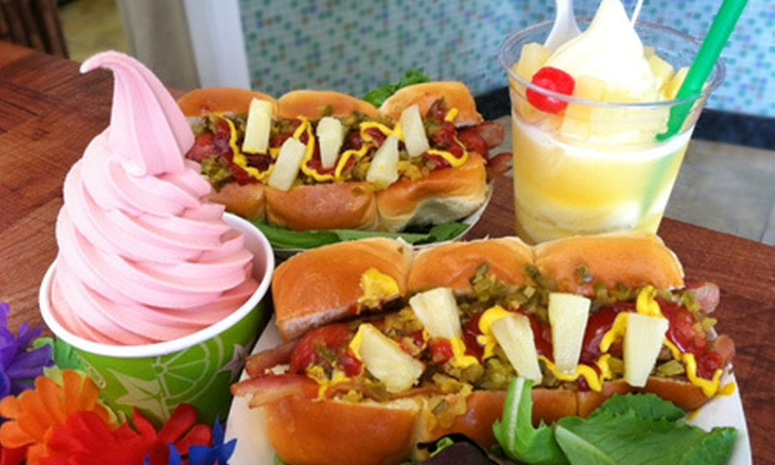 Whipp'd LA - West Hollywood: Hot-Dog Meal for Two or Four or Six Large Dole Whips or Carbolites at Whipp'd LA in West Hollywood (Up to 55% Off)