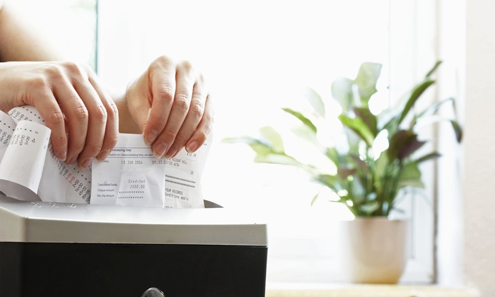 Shred Monkey - Shred Monkey: Document or Hard-Drive Shredding at Shred Monkey (Up to 60% Off). Four Options Available.