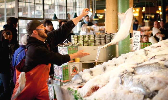 Savor Seattle Food Tours - Savor Seattle Food Tours: Food Tour of Pike Place Market for Two or Four from Savor Seattle (Up to 33% Off)