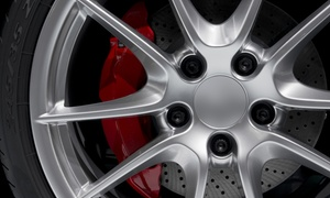 Midlands Alloy Wheel Refurbishment and Tyre Specialists: Alloy Wheel Refurbishment at Midlands Alloy Wheel Refurbishment and Tyre Specialists (Up to 55% Off)