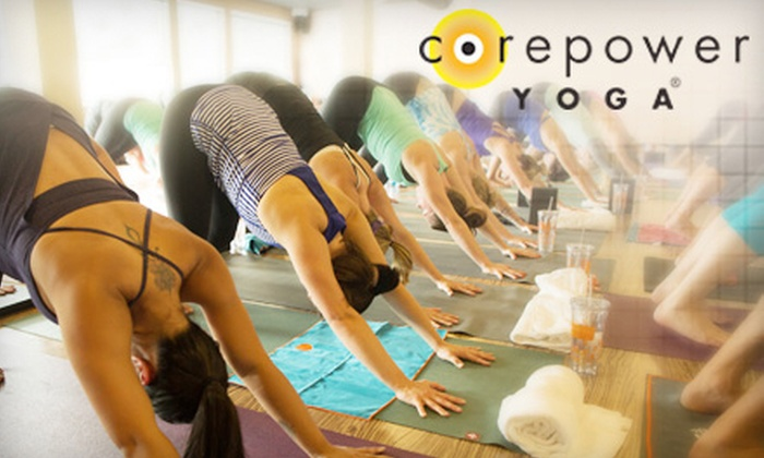 CorePower Yoga - CorePower Yoga - State Street: $59 for One Month of Unlimited Yoga Classes with an Additional Week for New Students at CorePower Yoga ($185 Value)