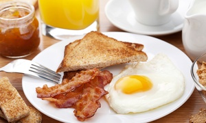 The Gathering: American Breakfast or Lunch at The Gathering (Up to 40% Off)