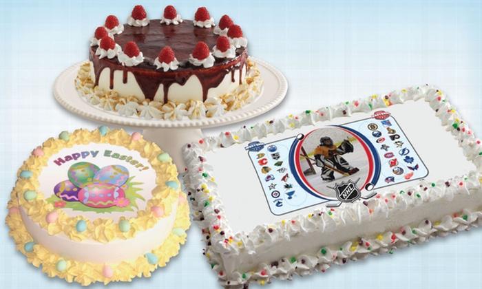 Ice Cream Cake Markham
