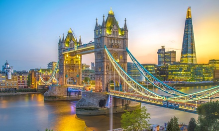 London: 2 Nights at 4* The Tower Hotel with Breakfast, River Cruise and Rail Tickets from Various Cities*