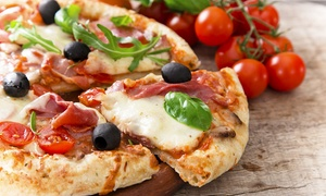 Buon Appetito: Pizza or Pasta For Two (£9) With Wine (£13) at Buon Appetito (Up to 44% Off)