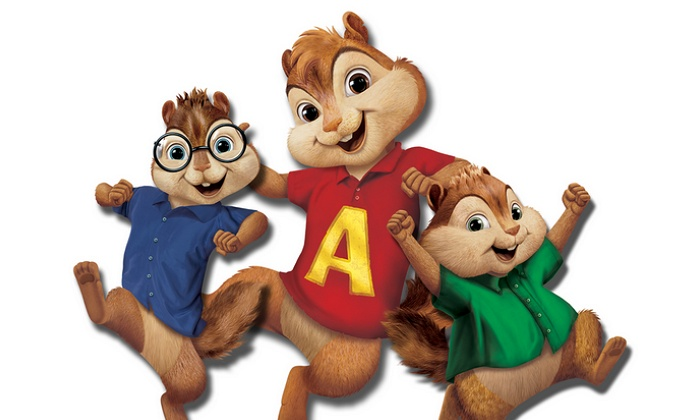 """""""Alvin And The Chipmunks Live On Stage!"""" - Toyota Oakdale Theater: Alvin and the Chipmunks: Live on Stage! on Sunday, November 1, at 3:30 p.m."""