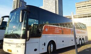 CityBusExpress B.V.: 1 Busticket von Berlin nach Amsterdam oder von Amsterdam nach Berlin inkl. Softgetränke mit CityBusExpress B.V.