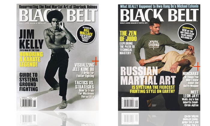 1-Year, 6-Issue Subscription to Black Belt Magazine: 1-Year, 6-Issue Subscription to Black Belt Magazine
