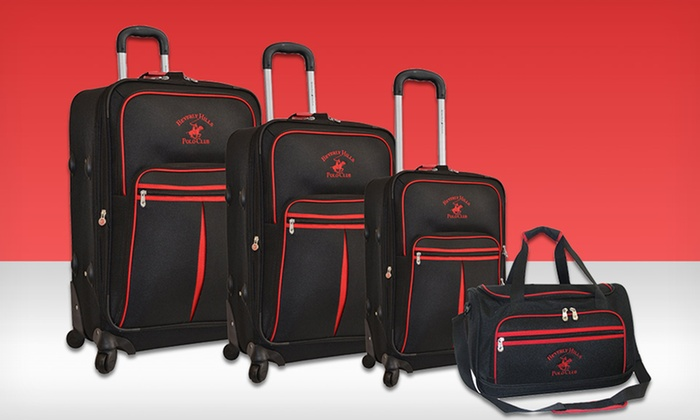 $199.99 for Beverly Hills Polo Club Luggage Set | Groupon