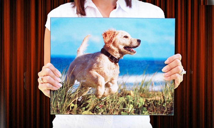 Custom Photo Panel Groupon Goods