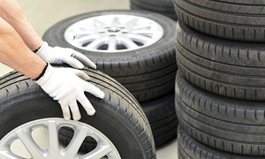 All American Tire: $30 for $80 Toward Four New Tires — All American Tire
