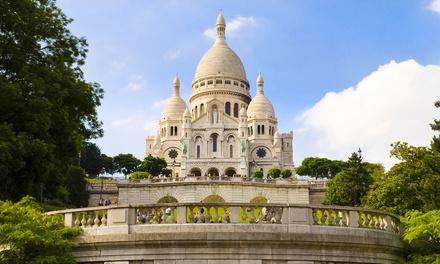Parijs: tweepersoonskamer, naar keuze met ontbijt, Seinecruise & champagne voor twee bij Hotel Prince Albert Montmartre