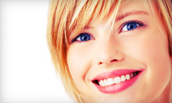 Pasadena Smile Center - Pasadena: Dental Exam with X-rays and Cleaning, or Sapphire Teeth-Whitening Treatment at Pasadena Smile Center (Up to 87% Off)