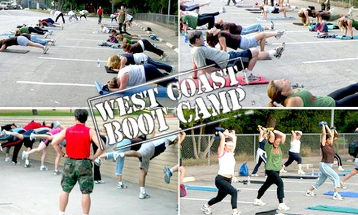 West Coast Boot Camp - Los Angeles: $20 for Two Weeks of Boot-Camp Classes and a Nutritional Consultation at West Coast Boot Camp