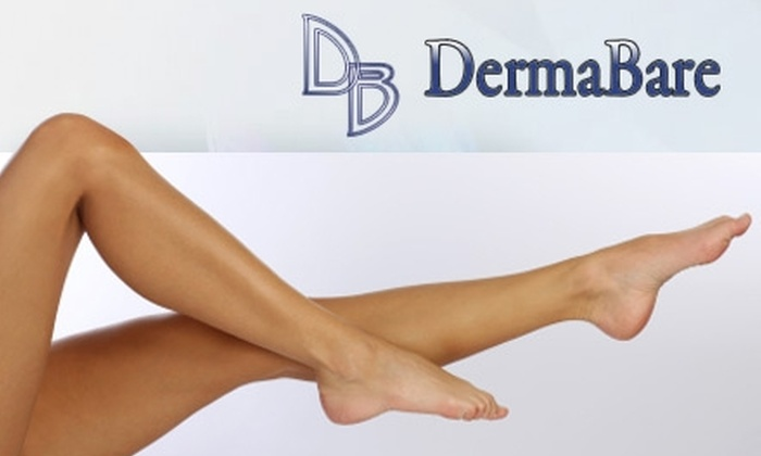 DermaBare - Clairemont Mesa East: $150 for Three Laser Hair-Removal Treatments on Two Areas (Six Total Treatments) from DermaBare San Diego (Up to $960 Value)