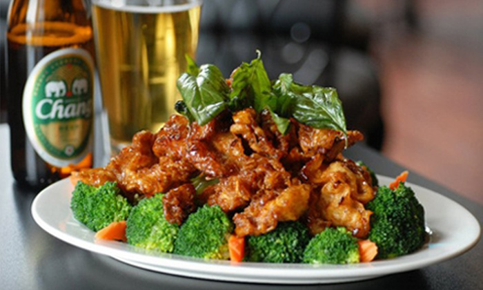 Thai Fusion Restaurant & Lounge - North Queen Anne: $10 for $20 Worth of Thai Cuisine at Thai Fusion Restaurant & Lounge
