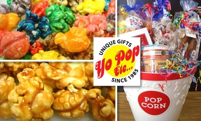 Yo Pop Etc. - Multiple Locations: $15 Worth of Gourmet Popcorn and Eats at Yo Pop Etc.