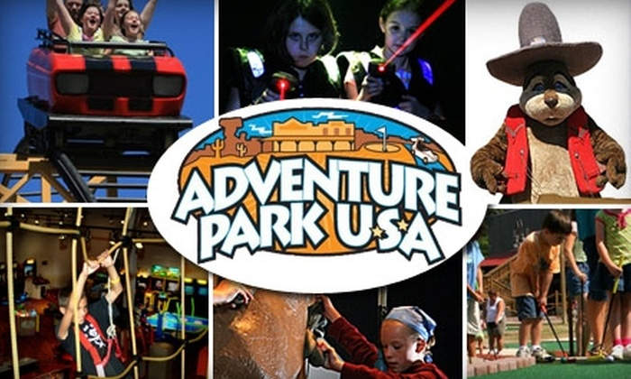 Adventure Park USA - 9, New Market: $10 for Three-Hour Weekend Attraction Pass with 50 Arcade Credits at Adventure Park USA