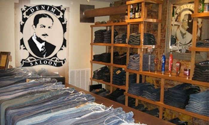 Denim Saloon - Dundee: $25 for $50 Worth of Jeans, Shirts, and Other Apparel at Denim Saloon